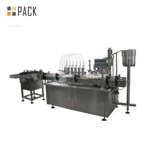 10ml eta 60ml fabrika prezioa E likido botila betetzeko makineria